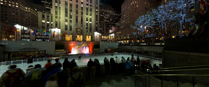 Skating Rink, Rockefeller Center, New York City