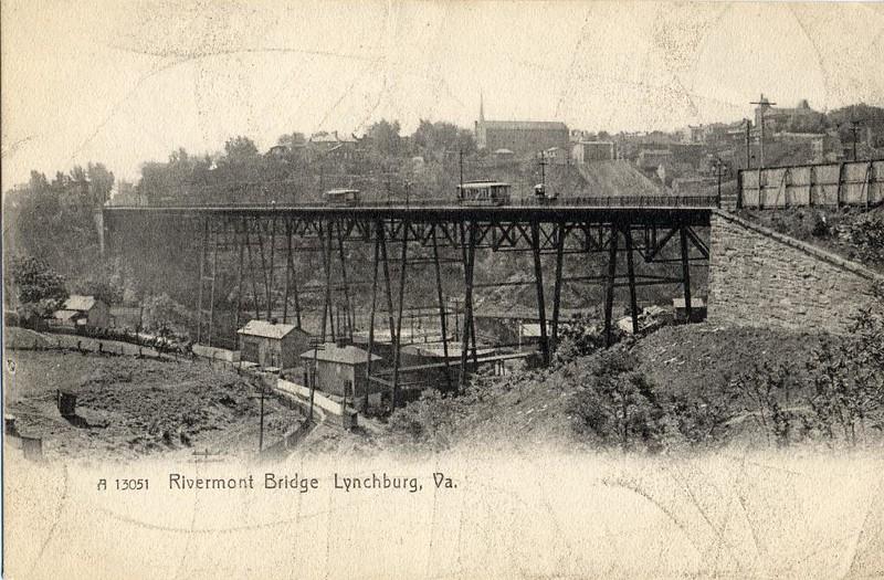 Postcard Rivermont Bridge (05062)