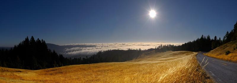 California Coast Fog and Sun