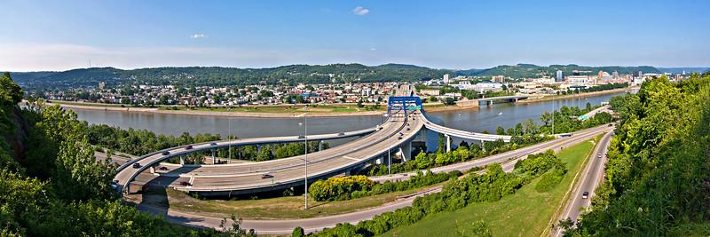 Fort Hill in Charleston, West Virginia