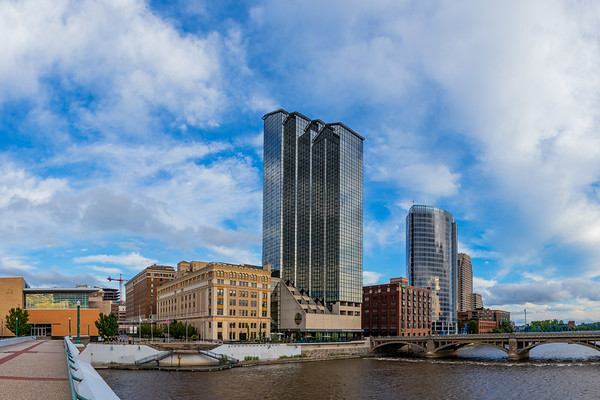 Downtown Grand Rapids Panorama