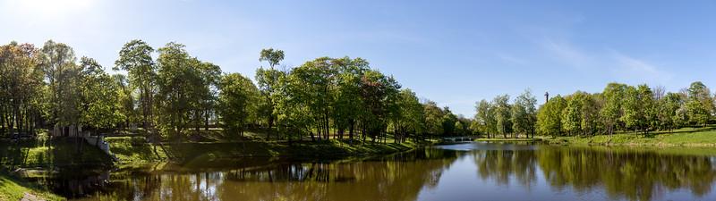 Kėdainiai park and park reservoir, 2018-05-07