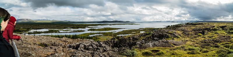 Þingvellir view