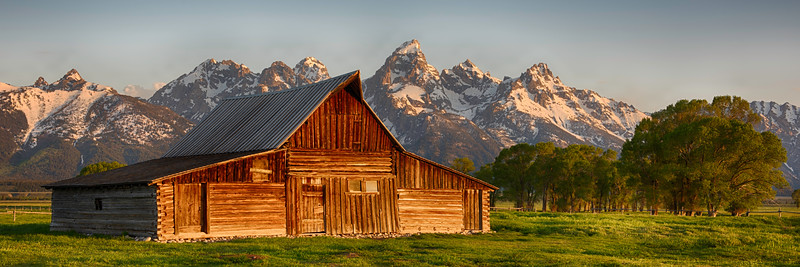 T. A. Mouton Barn - Grand Teton National Park