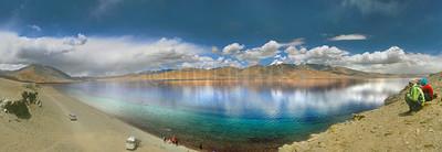 P9:Tso Moriri Lake from Tibetan Prayer ground, Korzok, ladakh