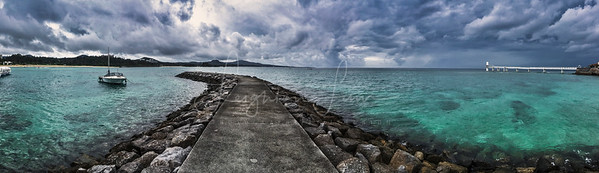 Okinawa Japan, the calm before the storm!