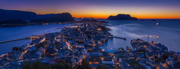 Twilight Above Ålesund II