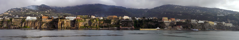 Sorrento coast line