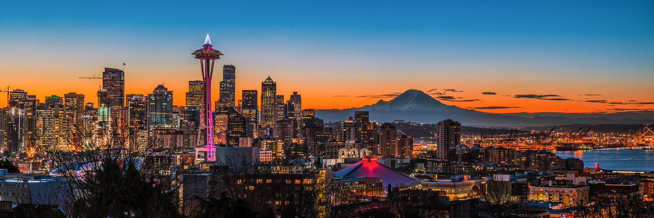 Seattle New Year's Eve Sunrise