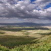 Panoramic view of Ngorongoro Crater, Tanzania, East Africa