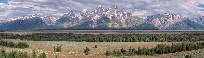 Grand Teton Range.