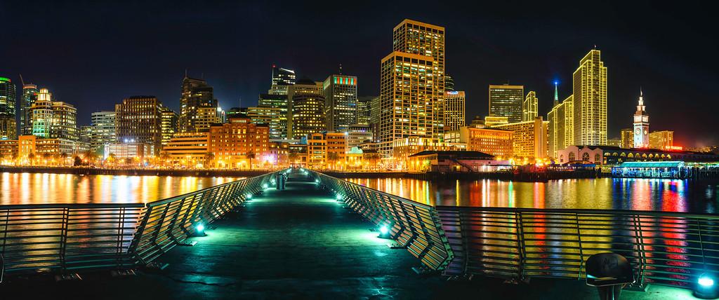 San Francisco City Lights