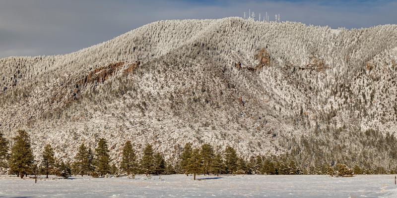 Mt. Elden in Winter