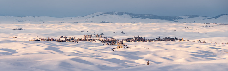 Palouse Winter Panorama