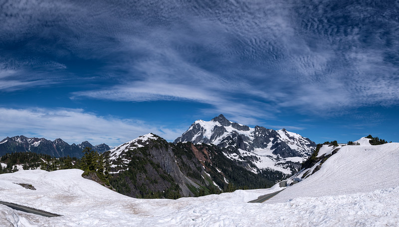 View of Mount Shuksan from Artist Point, Washington State