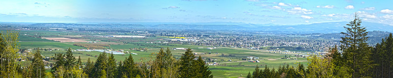 Peterson's Butte - East View of Lebanon