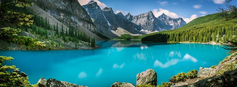 Moraine Lake (Panorama)