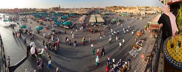 Jamaa El-Fna, Marrakesh, Morocco