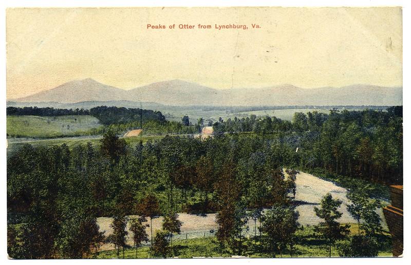 Peaks of Otter from Lynchburg, Va. (03025)