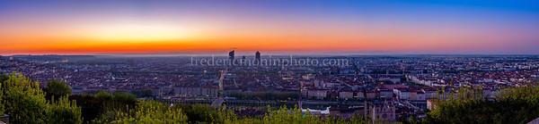 Sunrise on Lyon