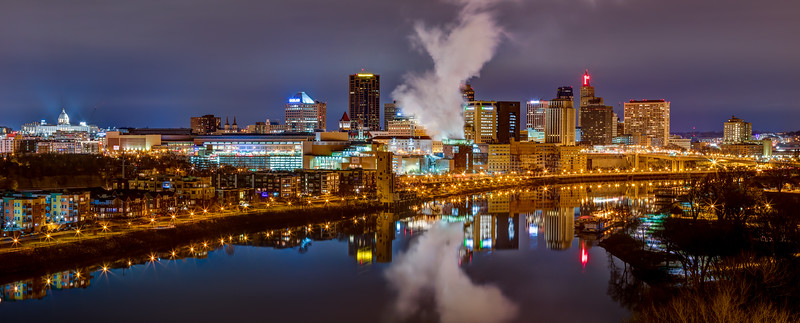 The Classic Saint Paul Skyline Returns