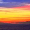 Dawn Sky Panorama on the Bahamas Sea