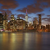 Manhattan Skyline at the Blue Hour