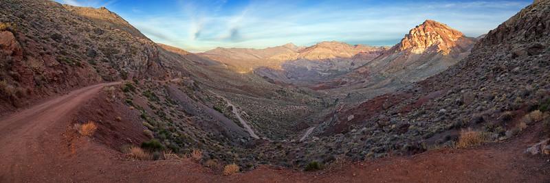 Titus Canyon Road, Death Valley California