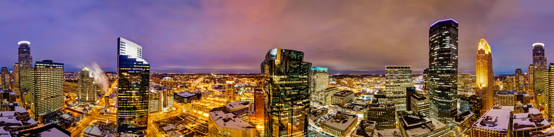 Capella to Capella:  A walk around the Foshay Tower observation deck