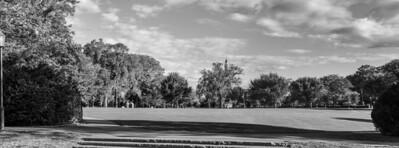 Phillips Academy green pano, mono