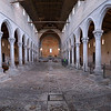 Panorama of 4th-Century Floor Mosaics in the Basilica of Aquileia, Italy