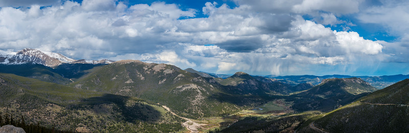 5.28.16 Rocky Mountain National Park in Panorama, 130 Megapixels