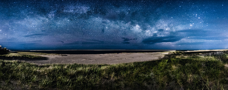 Milky Way over Chatham Beach