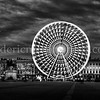 Panorama on Bellecour place ...