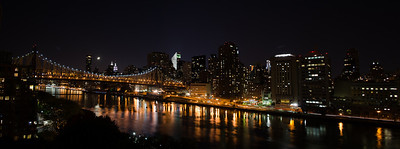 Queensboro Bridge and East Side from Roosevelt Island
