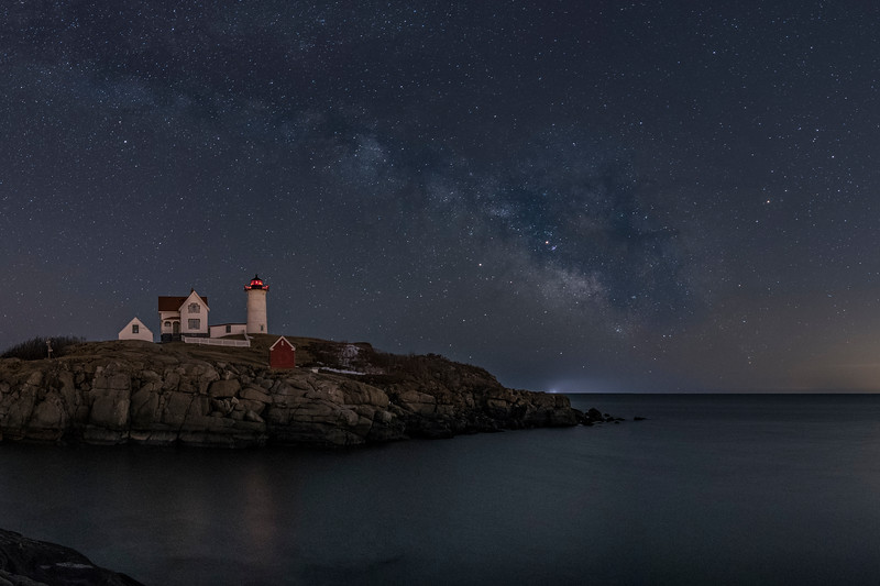 Nubble Light fifth pano
