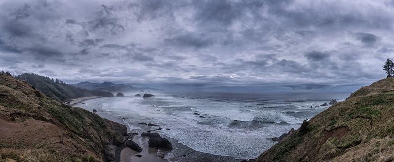 Cannon Beach Panorama, Oregon Coast