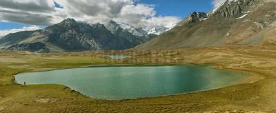 P11:Stat Tso lake while going to Rangdum, Zanskar Valley, Ladakh