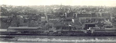 View of Lynchburg from Madison Heights I (02111)
