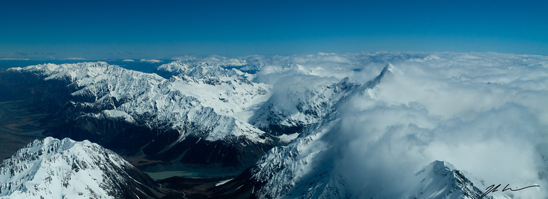 Southern Alps, Mount Cook National Park, South Island, New Zealand