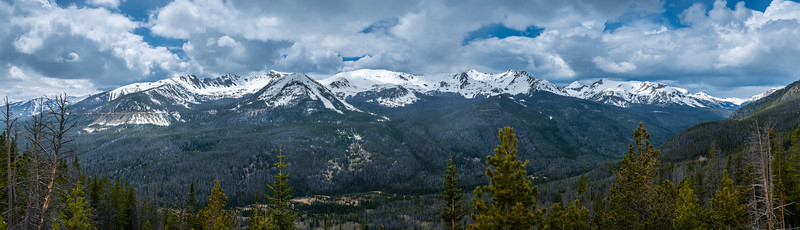 5.28.16 Rocky Mountain National Park in Panorama, 133 Megapixels
