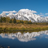 Panorama of Schwabacher Landing, Grand Teton National Park, Wyoming