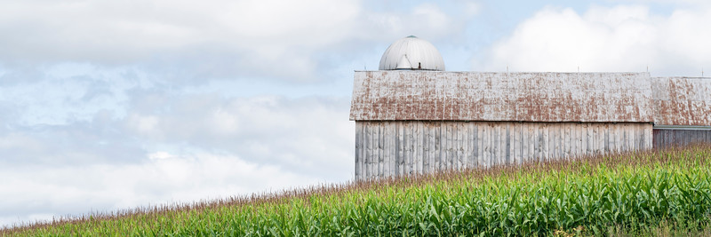 Barn On The Hill No. 1