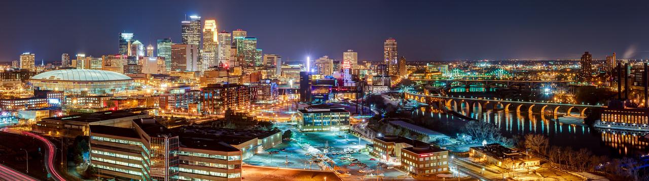 Minneapolis After Dark