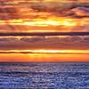Ocean Sunset Panorama