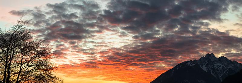 Hochnissl sunset