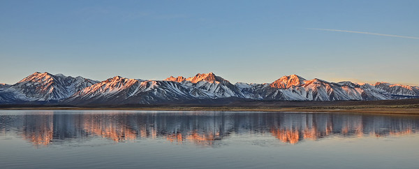 First light on the range at Alkali Lake, Inyo National Forest, California