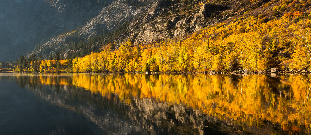 Silver Lake fall colors, Eastern Sierras