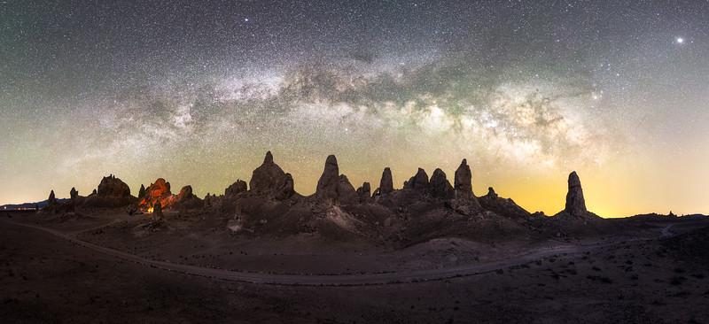 Trona Milky Way Pano