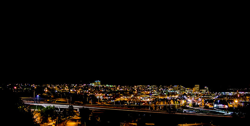 """Night Lights of Tacoma"""